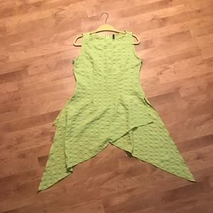 Tops - Lime Green Top with Tails